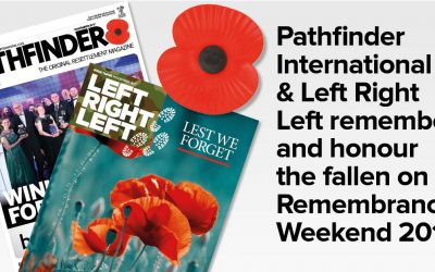 We will remember them – Pathfinder & Left Right Left pay our respects