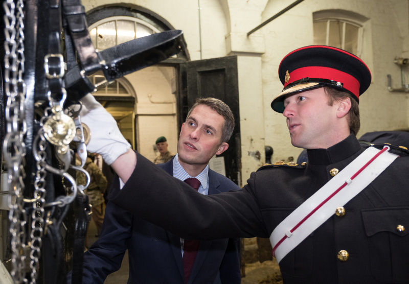 Defence Secretary Praises Personnel Keeping Britain Safe Over Christmas