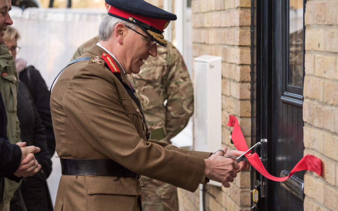 Top military charity opens homes for Christmas for Veterans in London