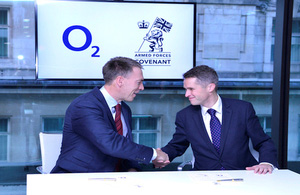 O2 Becomes The 2000th Company To Sign The Covenant