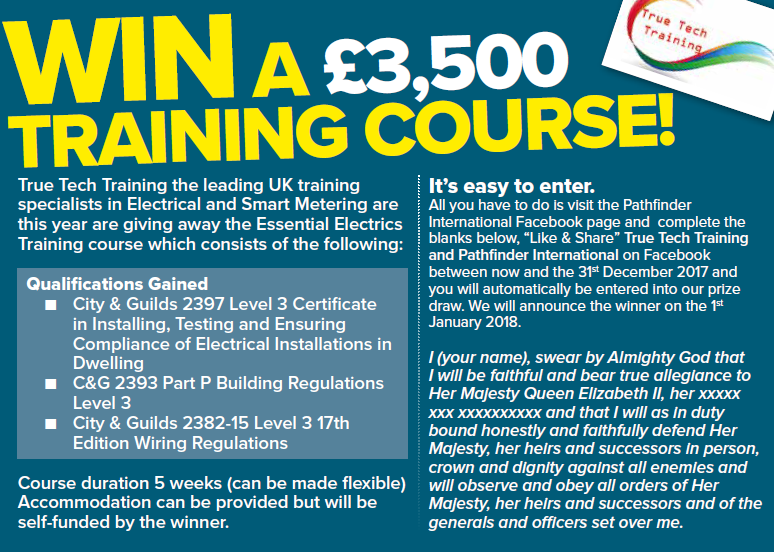 WIN! A £3,500 training course!