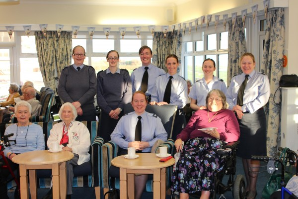 'Trailblazers' Joined By RAF Personnel For Centenary Celebrations