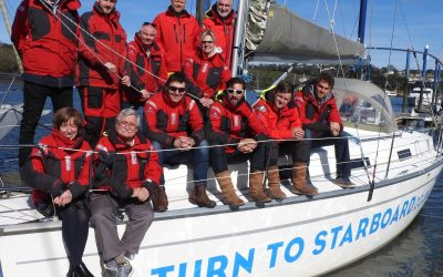 All Aboard For Launch Of Charity Racing Team