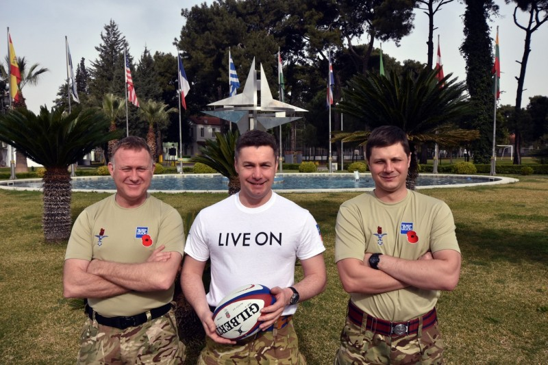 Army v Navy Match Ball To Go To Gallipoli