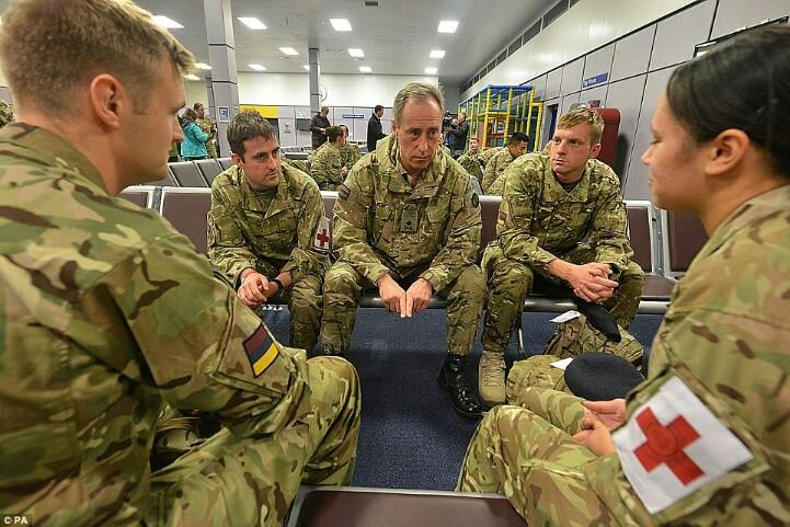 Celebrating Military Skills In The NHS