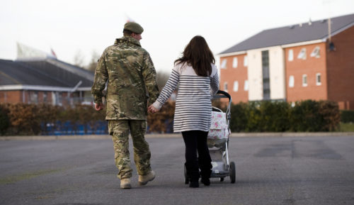 Children's Commissioner Publishes Report On Forces Families