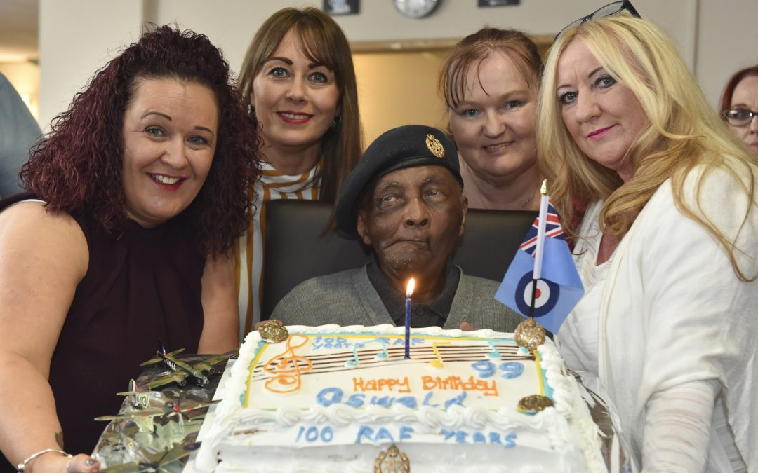 Party Time As RAF Veteran Oswald reaches 99
