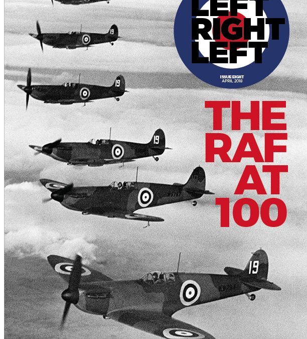 Left Right Left turns blue for RAF100