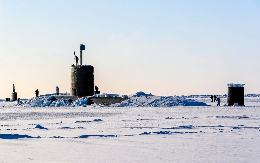 Royal Navy Submarine Breaks Through North Pole Ice