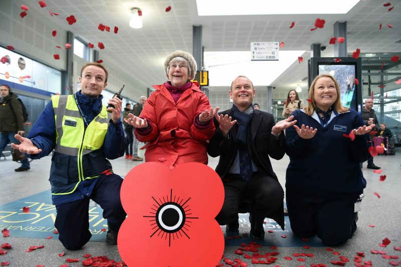 ScotRail Alliance Raises Record Amount For Poppy Appeal