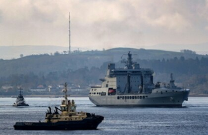 Europe's Largest Military Exercise Under Way In The UK