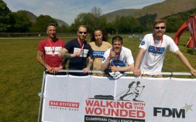 Celebrating Cumbrian Challenge Success