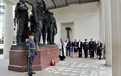 Tributes Paid To Brave Dambusters Airmen