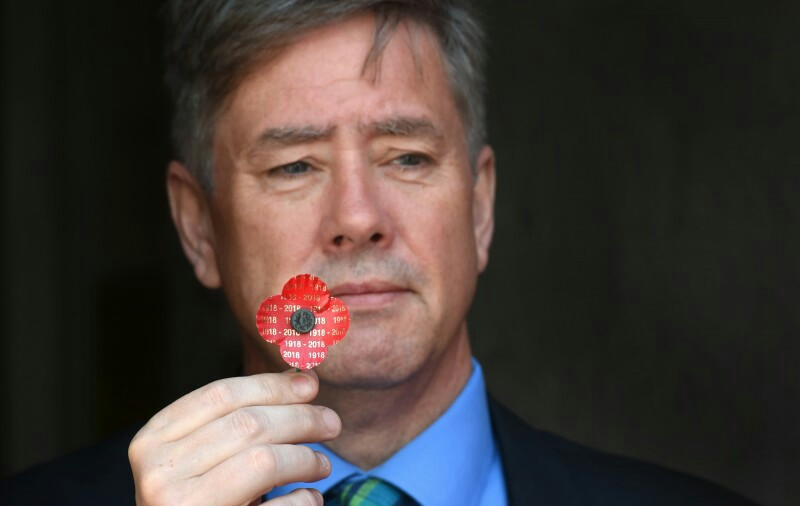 Scottish Veterans Minister Helps Launch Centenary Poppy