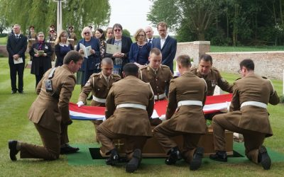 WW1 Officer Honoured And Laid To Rest