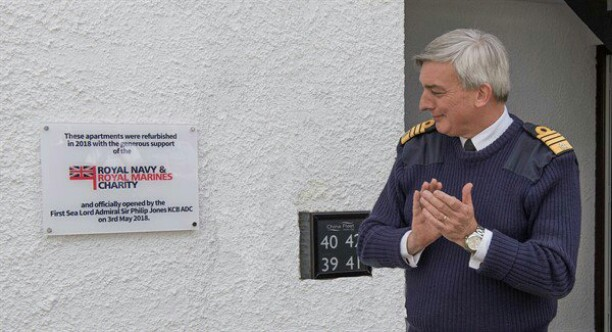 First Sea Lord Opens Charity-Funded Refurbishment
