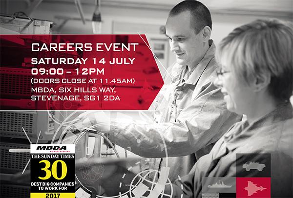 MBDA Careers Event