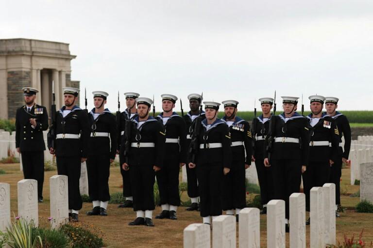 World War 1 Sailor Laid To Rest