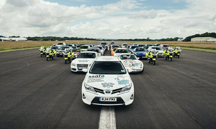 'Rally For Heroes' Going Full Throttle Over 3,000 Miles