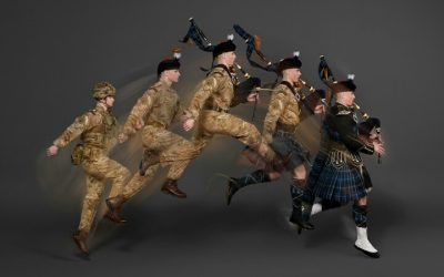 'Sky's The Limit' At This Year's Edinburgh Tattoo