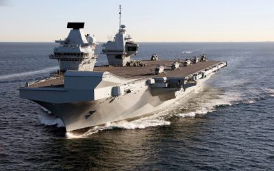 HMS Queen Elizabeth Sets Off For F-35B Trials