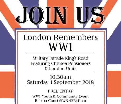 London Remembers WW1
