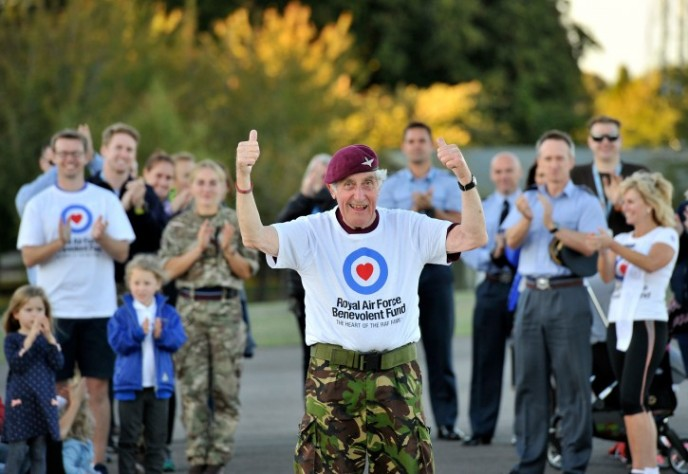 86-Year-Old Ex-Para Walks 100 Miles