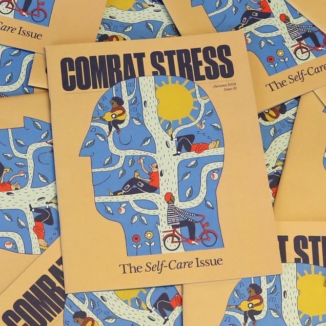 Combat Stress Launches New Mental Health Magazine