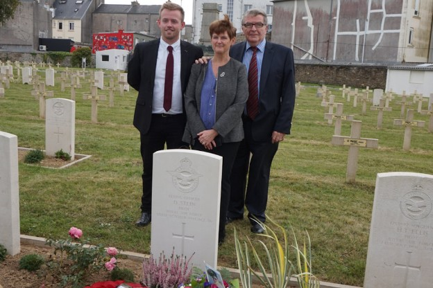 WW2 Pilot's Grave Rededicated After 77 Years