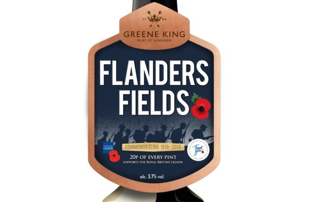 Greene King Partners With The Legion To Brew Flanders Fields