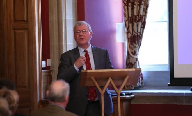 Eminent Historian Supporting War Memorials Trust
