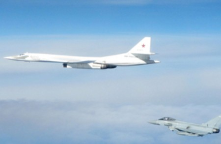 UK Fighter Jets Intercept Russian Bombers