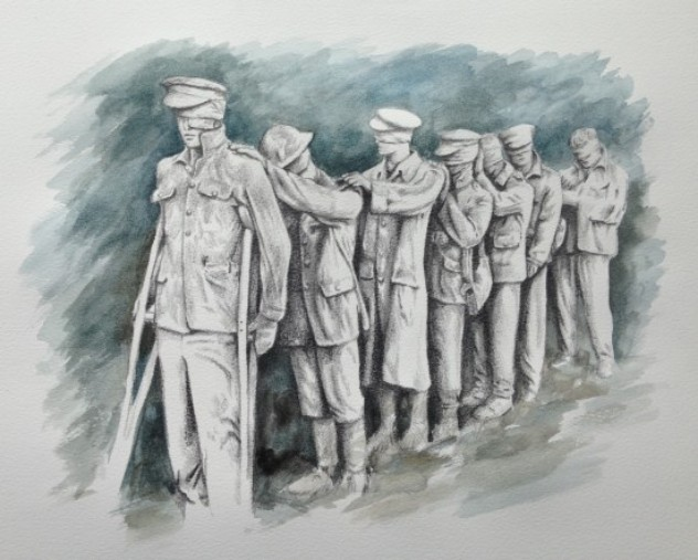 Statue Of Blinded Soldiers To Be Unveiled In Manchester