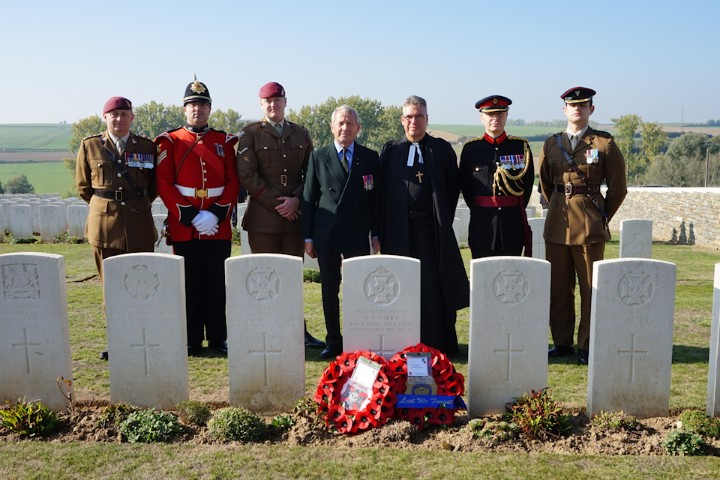Soldiers' Graves Rededicated 100 Years On