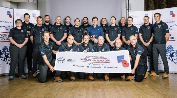 Legion Lead Groundbreaking Himalayan Expedition