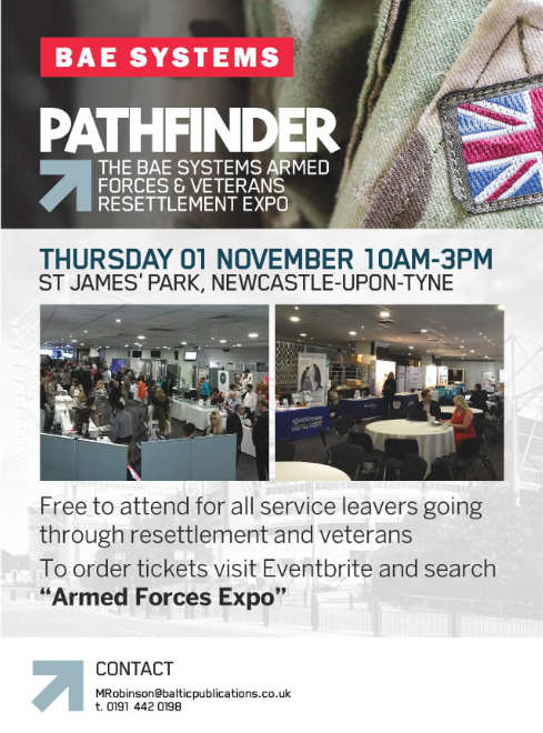 The BAE Systems Armed Forces And Veterans Resettlement Expo: What Help & Advice Is Available At The Event?