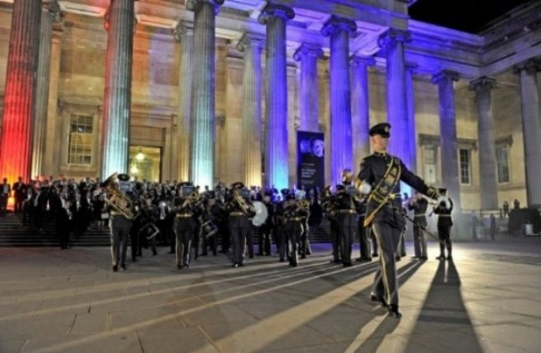 RAF Centenary Celebrated At British Museum
