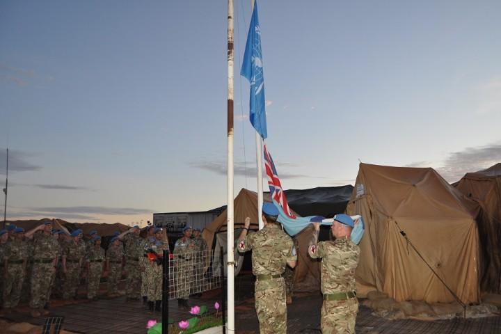 RAF Medics Transfer Sudan Hospital