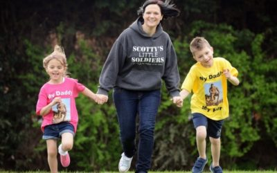 Going All Out In Support Of Bereaved Children