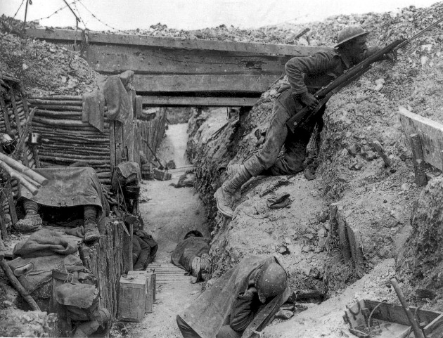 Fundraisers Spend Weekend In A WW1 Trench