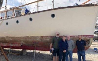 Boat Restoration Project Gathers Momentum
