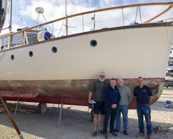 Boat Restoration Project Gathers Momentum