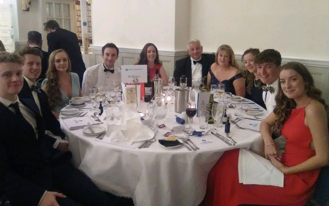 Dining In Night Raises £8971 For Charity