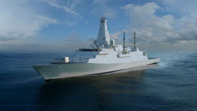 HMS Sheffield Revealed As New Warship