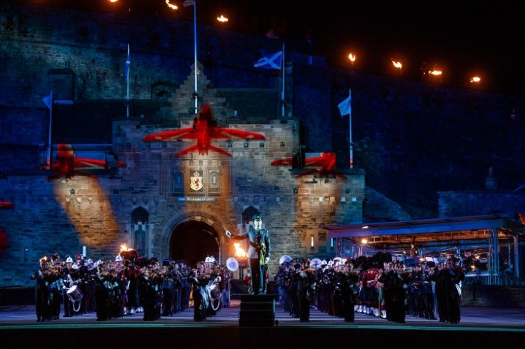 Tattoo Drums Up Almost £200,000 For RAF Charity