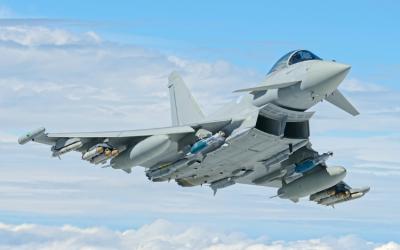 Typhoons Scrambled To Intercept Russian Aircraft