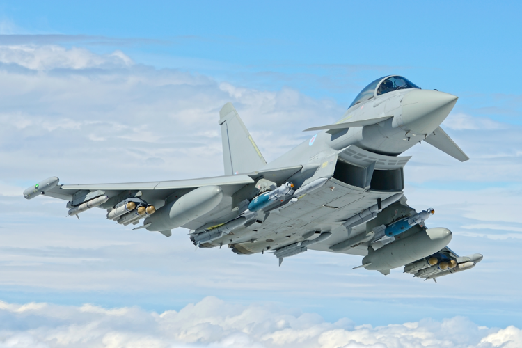 Typhoons Scrambled To Intercept Russian Aircraft