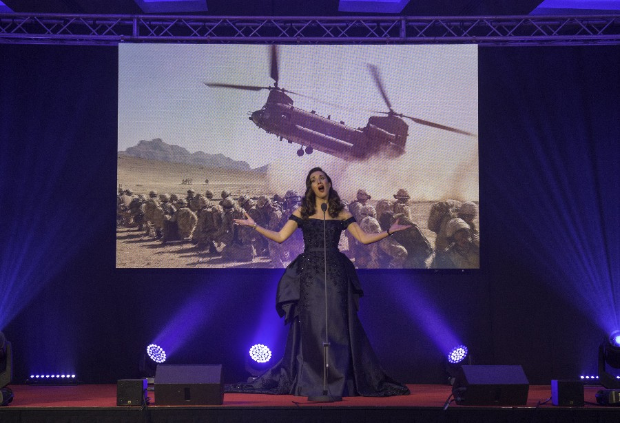Carly Paoli Releases Military Fundraising Single