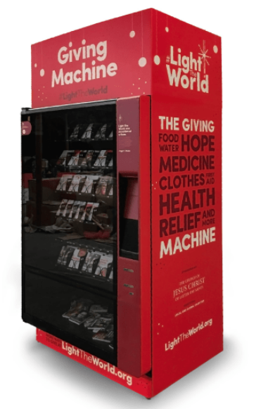 Legion To Benefit From First UK Charity Vending Machine