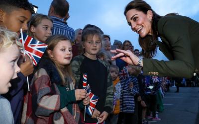 Duke And Duchess Of Cambridge Visit British Forces Cyprus